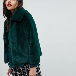 River Island Faux Fur Jacket